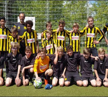 D-Jugend des FV 03 Ladenburg holt sich den Staffelsieg