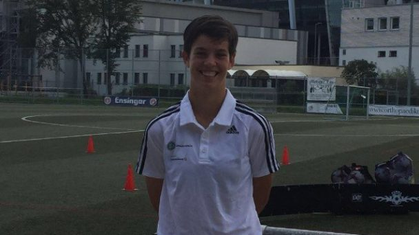 Jugend Trainerin des FV03 Ladenburg  erhält Einladung zum Länderspiel der Nationalmannschaft