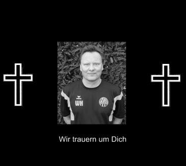 Wir trauern um unseren Jugend-Trainer