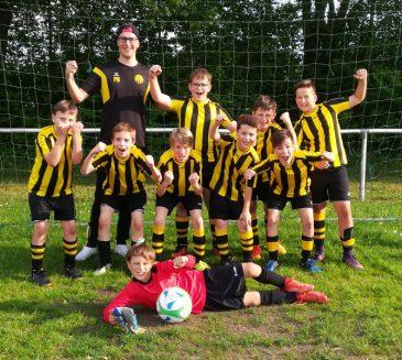 Meistertitel krönt überragende Saison der E1- Jugend